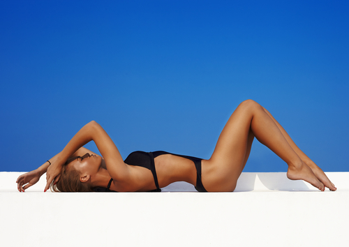 Mobile spray tan body treatment