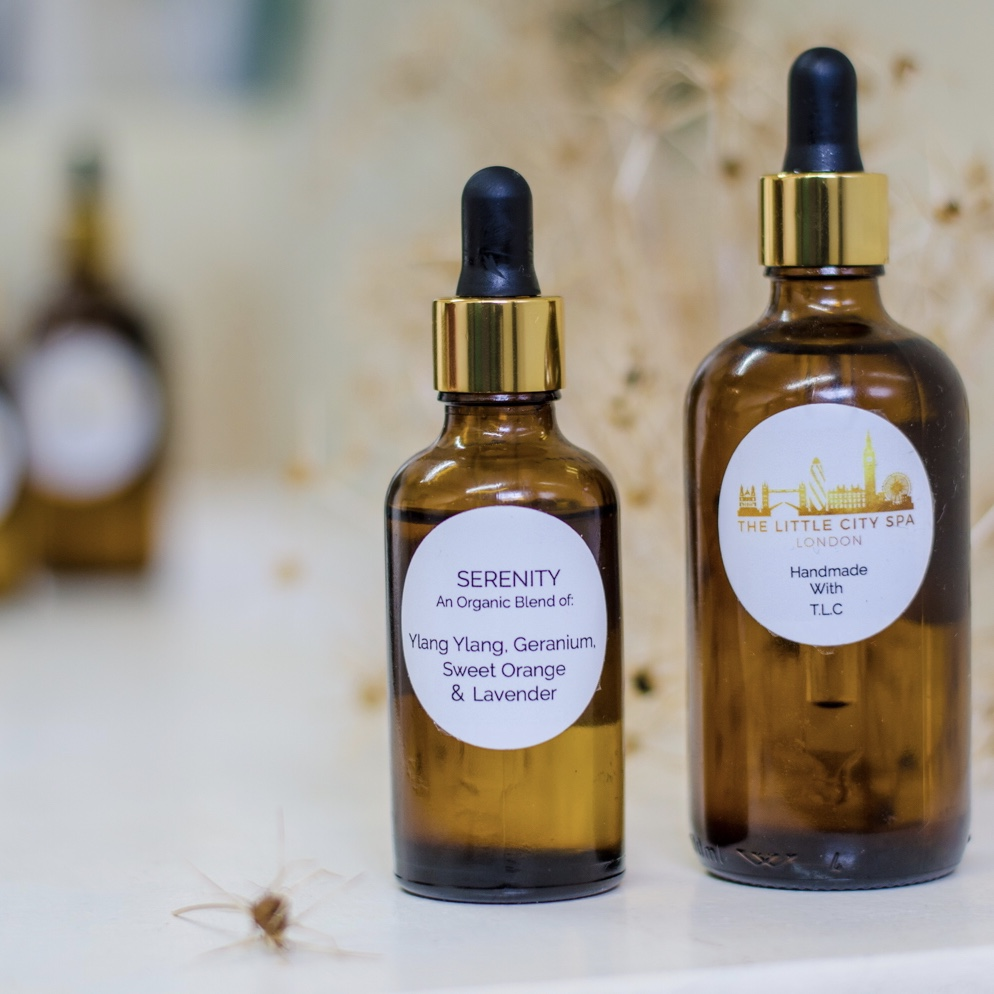 The Little City Spa massage oils