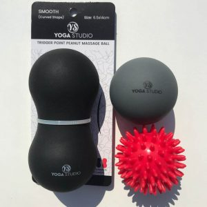 Peanut Spikey Ball massage set
