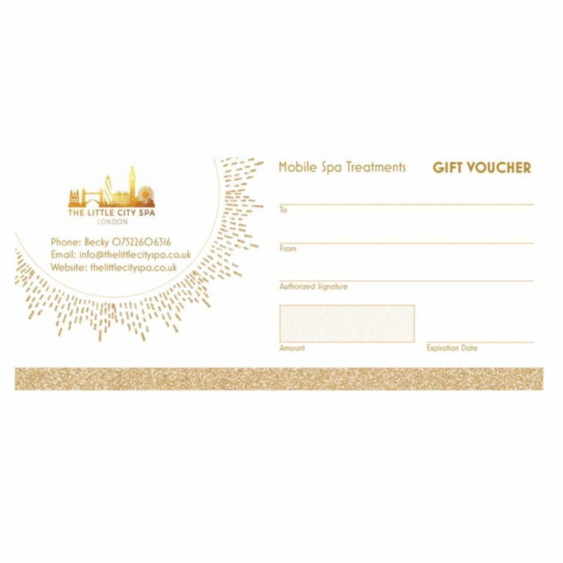 The Little City Spa Gift Voucher